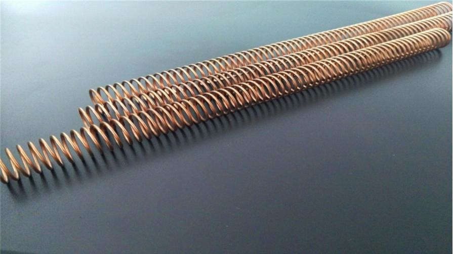 铜线长压簧